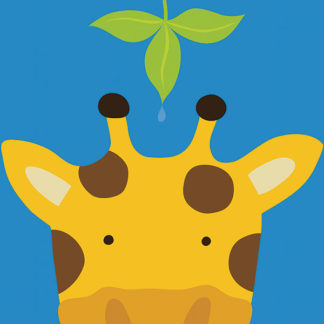 L588 - Lau, Yuko - Peek-a-Boo Giraffe