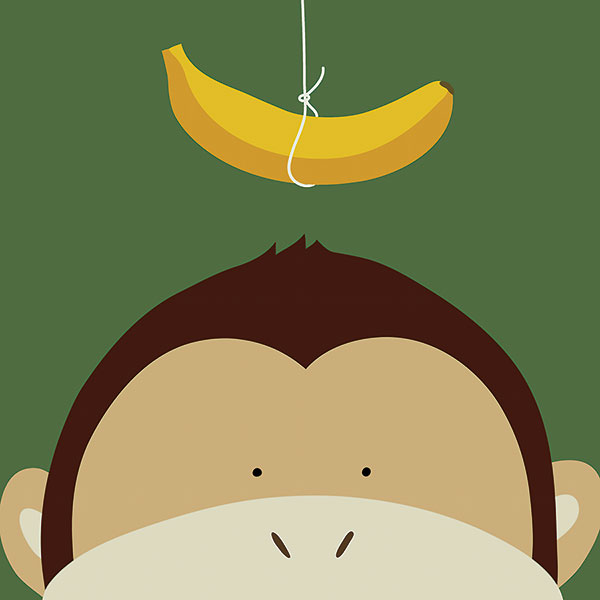 L591 - Lau, Yuko - Peek-a-Boo Monkey