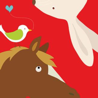 L596 - Lau, Yuko - Farm Group: Rabbit and Horse
