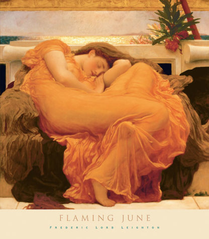 L94 - Leighton, Frederic - Flaming June