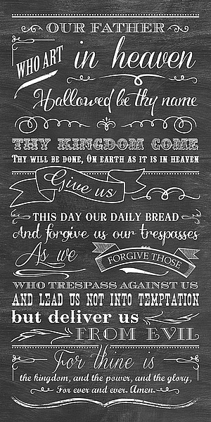LL1037 - Longfellow Designs - Lords Prayer