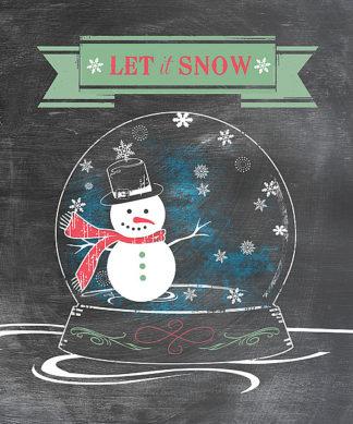 LL1078 - Longfellow Designs - Let It Snow-Green