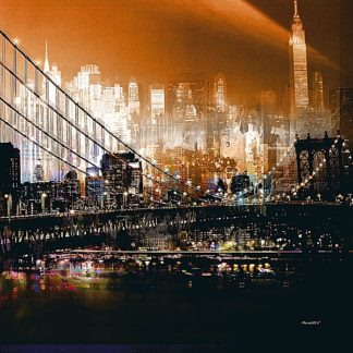 M1164 - Mereditt.f - Brooklyn Bridge by Night