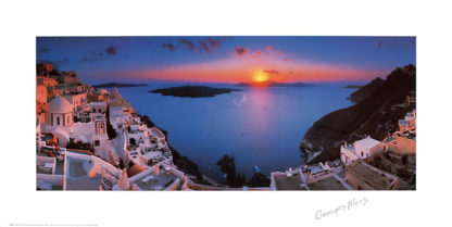M775 - Meis, George - Sunset in the Mediterranean