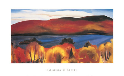 O87 - O'Keeffe, Georgia - Lake George, Autumn, 1927