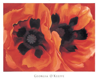 O95 - O'Keeffe, Georgia - Oriental Poppies, 1928