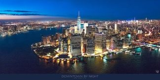 P1092 - Plisson, Philip - New York Downtown by Night