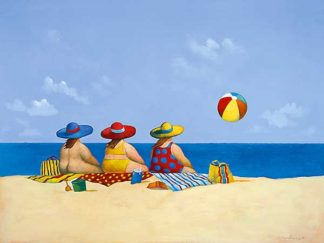 P513D - Paraskevas, Michael - Three Ladies Sunning