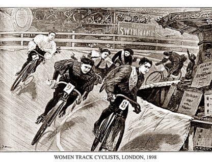 P849 - Presse 'E Sports - Women Track Cyclists, 1898