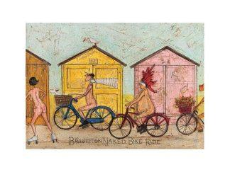 PPR44366 - Toft, Sam - Brighton Naked Bike Ride
