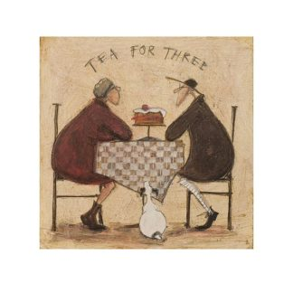 PPR45286 - Toft, Sam - Tea for Three (Checkered Tablecloth)