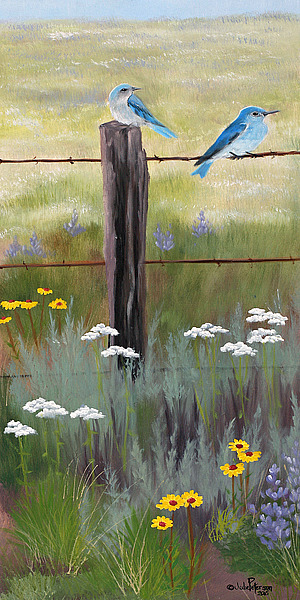 PT1057 - Peterson, Julie - Mountain Blue Birds