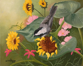 PT1061 - Peterson, Julie - Chickadee & Sunflowers