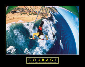 R319 - Roberts, H. Armstrong - Courage – Hang Glider