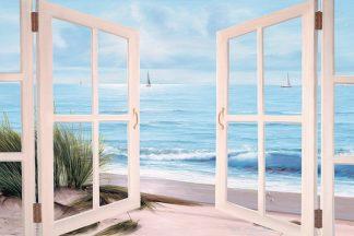 R605D - Romanello, Diane - Sandpiper Beach Door