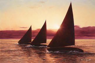 R611D - Romanello, Diane - Evening Sails