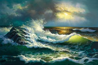 R915D - Romanello, Diane - Ocean Waves