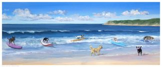 S1185 - Saxe, Carol - Hot Dogs Surf