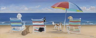 S1188 - Saxe, Carol - Beach Chair Tails/Umbrella