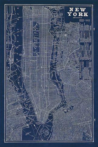 S1219 - Schlabach, Sue - Blueprint Map New York