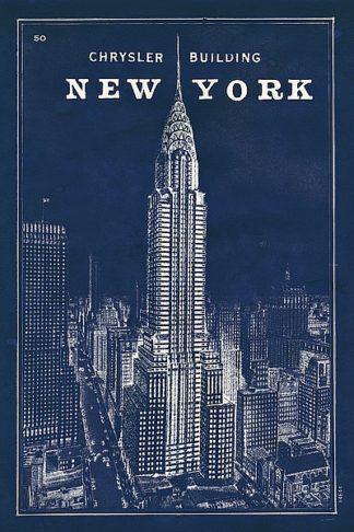 S1220 - Schlabach, Sue - Blueprint Map New York Chrysler Building