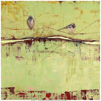 S999 - Sugg, Janice - Birds on Horizon in Green