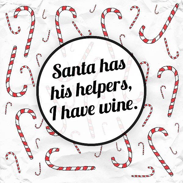 SBAS1201 - Hutchins, Ashley - Santa's Helpers - Wine