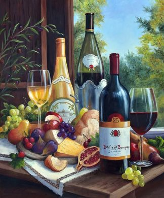 SBBF8029 - Felisky, Barbara - Still Life with Wines