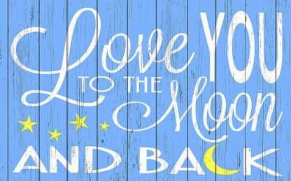SBER1139 - Words for the Soul - Love You to the Moon - Blue