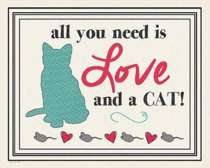SBJM11669 - Moulton, Jo - Love and a Cat