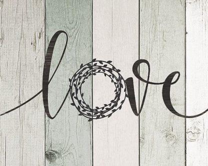 SBJM15375 - Moulton, Jo - Love Rustic Wreath II