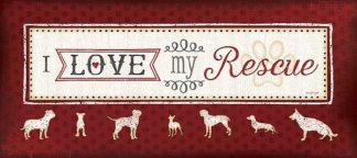 SBJP4514 - Pugh, Jennifer - I Love My Rescue