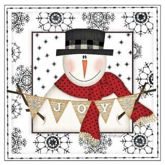 SBJP5423 - Pugh, Jennifer - Snowman Snowflake IV