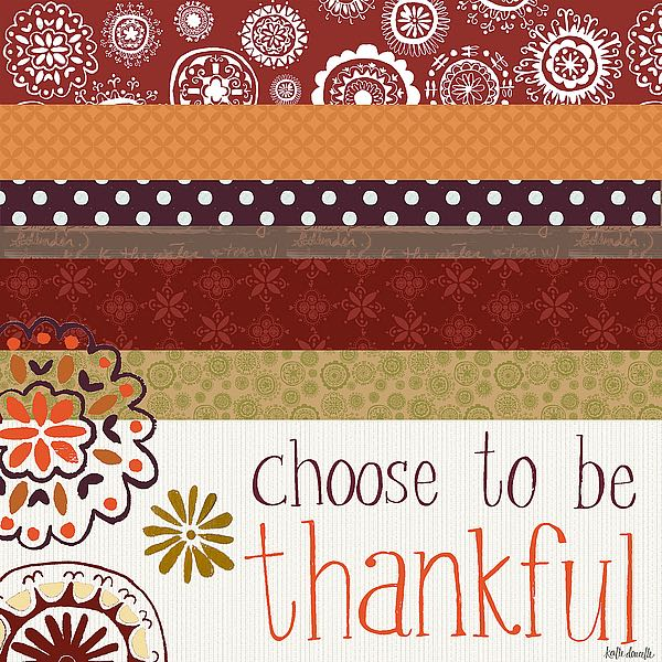 SBKA1160 - Doucette, Katie - Choose to Be Thankful