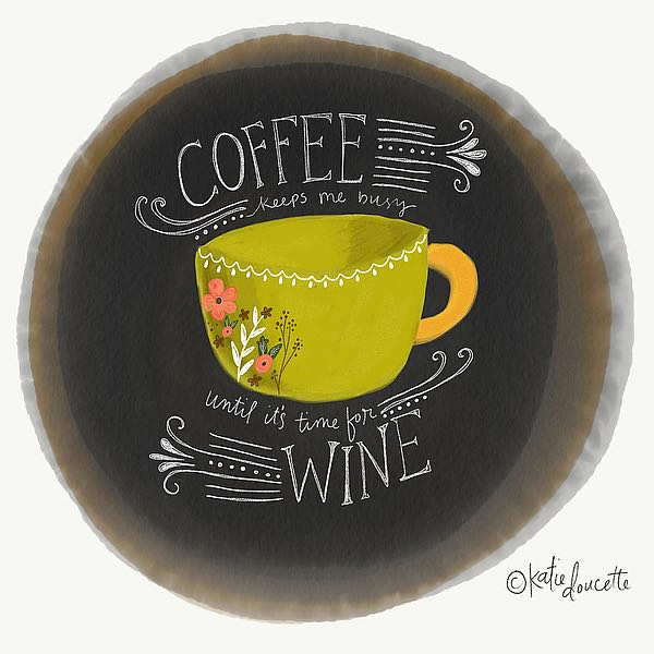 SBKA1549 - Doucette, Katie - Coffee Until Wine
