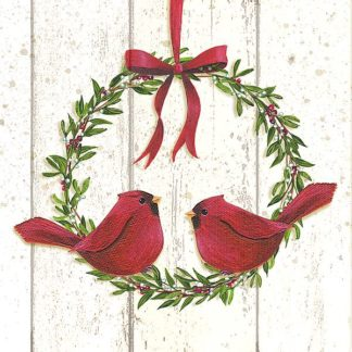 SBPL1172 - P.S. Art Studios - Cardinal Wreath