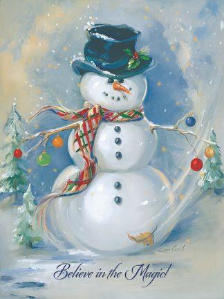 SC1255 - Comish, Susan - Snowman Magic