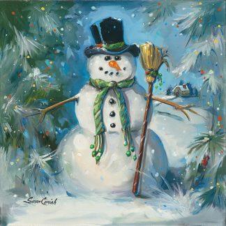 SC1409 - Comish, Susan - Sweeping Snowman