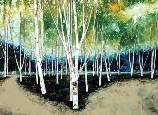 SY1035 - Roy, Stuart - White Trees