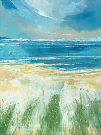 SY1076 - Roy, Stuart - Summer Sea and Beach at Holkham