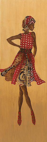 T544 - Tava, Janet - Ebony Style I