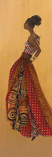 T545 - Tava, Janet - Ebony Style II