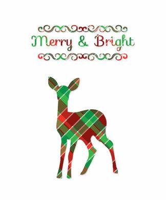 TA1165 - Moss, Tara - Plaid Deer Merry & Bright