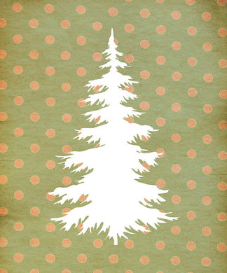TA1173 - Moss, Tara - White Christmas Tree BG