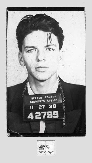 U269 - Unknown - Frank Sinatra – Mugshot