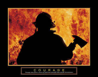 U345 - Unknown - Courage – One Fireman