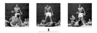 U486 - Unknown - Muhammad Ali v. Sonny Liston (triptych)