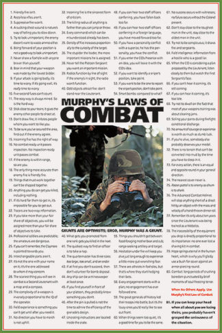 U500 - Unknown - Murphy's Laws of Combat