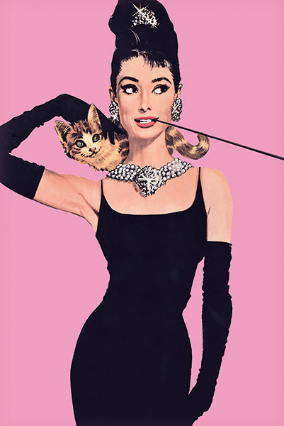 U508 - Unknown - Audrey Hepburn – Pink