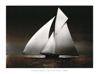 U511 - Unknown - Iverna Yacht at Full Sail, 1895